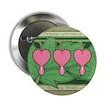 """Bleeding Heart 2.25"""" Button (10 pack)"""
