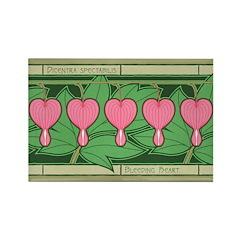 Bleeding Heart Rectangle Magnet (10 pack)