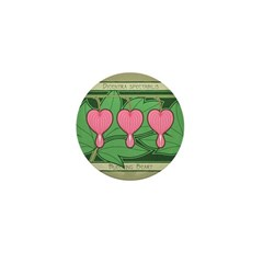 Bleeding Heart Mini Button (100 pack)