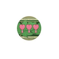 Bleeding Heart Mini Button (100 pack)