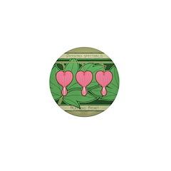 Bleeding Heart Mini Button