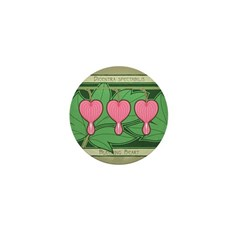 Bleeding Heart Mini Button