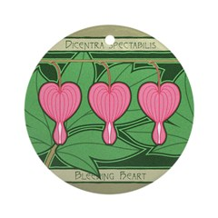 Bleeding Heart Ornament (Round)
