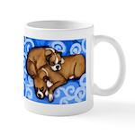 Boxer Dog Mom $ Puppy Mug