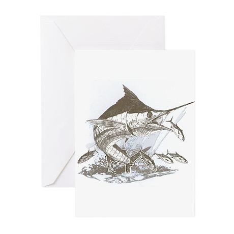 Marlin Greeting Cards (Pk of 10)