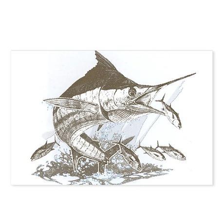 Marlin Postcards (Package of 8)