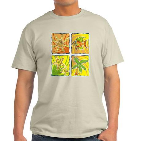 Colorful squares Light T-Shirt