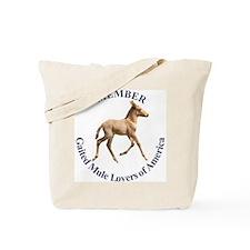 Gaited Mule Lovers of America Tote Bag