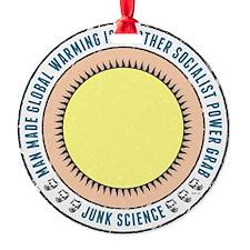 Junk Science Power Grab Ornament