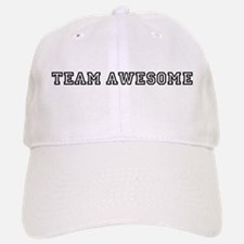 Team Awesome Baseball Baseball Cap