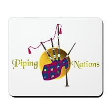 Piping Nations. Mousepad