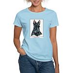 Scottish Terrier Scotty Art Women's Light T-Shirt