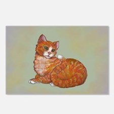 Fire Cat Postcards (Package of 8)
