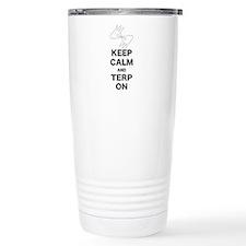 Keep calm and Terp on Travel Mug