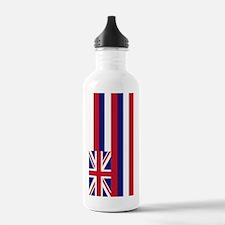 Hawaii Flag Water Bottle