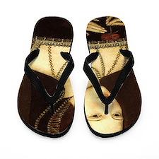 Anne Boleyn Flip Flops