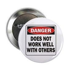 """Work Well 2.25"""" Button (10 pack)"""