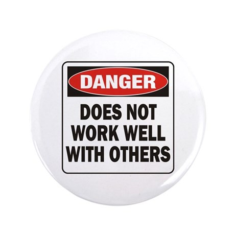 """Work Well 3.5"""" Button (100 pack)"""