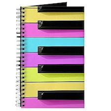 Piano Keys Neon Journal