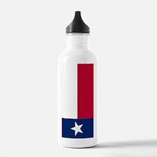Flag of Texas Water Bottle