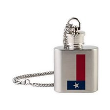Flag of Texas Flask Necklace