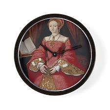 Young Princess Elizabeth Wall Clock