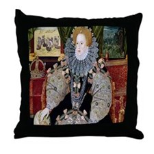Defeat of the Armada Throw Pillow