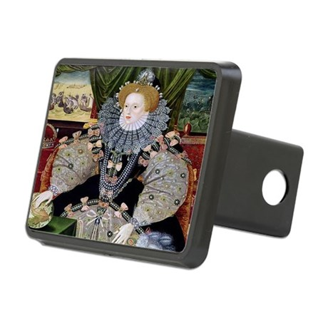 Defeat of the Armada Rectangular Hitch Cover
