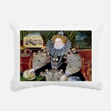 Defeat of the Armada Rectangular Canvas Pillow