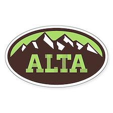 Alta Chocolate Pistachio Decal