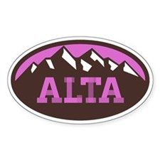 Alta Chocolate Raspberry Decal