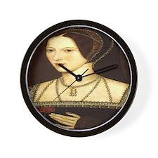 Anne Boleyn Wall Clock