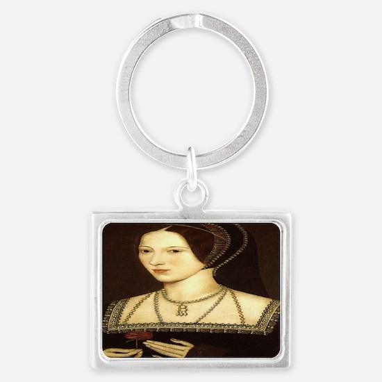 Anne Boleyn Landscape Keychain
