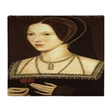Anne boleyn Fleece Blankets