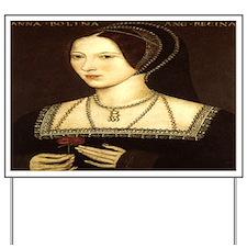 Anne Boleyn Yard Sign