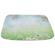 Dandelion Field Bathmat