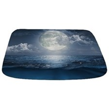 Night Ocean Bathmat