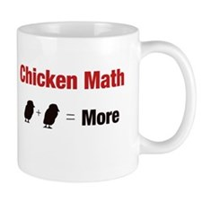Chicken Math (More) Mugs