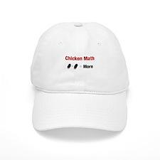Chicken Math (More) Baseball Baseball Cap