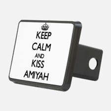 Keep Calm and kiss Amiyah Hitch Cover