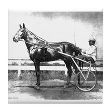 Dan Patch Harness Racing Tile Coaster