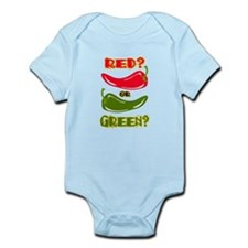 RED? OR GREEN? Onesie