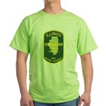 Illinois Game Warden Green T-Shirt