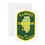 Illinois Game Warden Greeting Cards (Pk of 10)