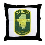 Illinois Game Warden Throw Pillow
