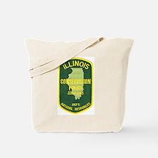 Illinois Game Warden Tote Bag