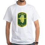 Illinois Game Warden White T-Shirt