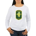 Illinois Game Warden Women's Long Sleeve T-Shirt