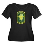 Illinois Game Warden Women's Plus Size Scoop Neck