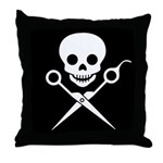 Jolly Stylist Throw Pillow